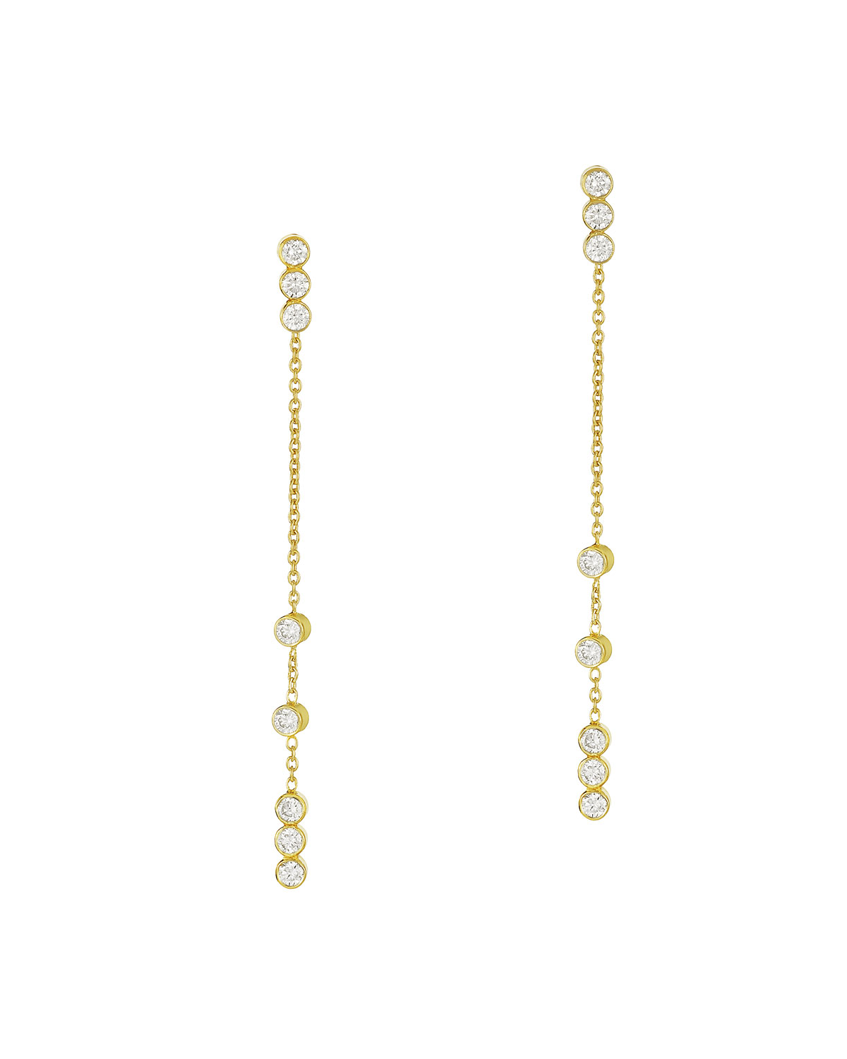 LEGEND AMRAPALI Tarakini Convertible Diamond Dangle Earrings