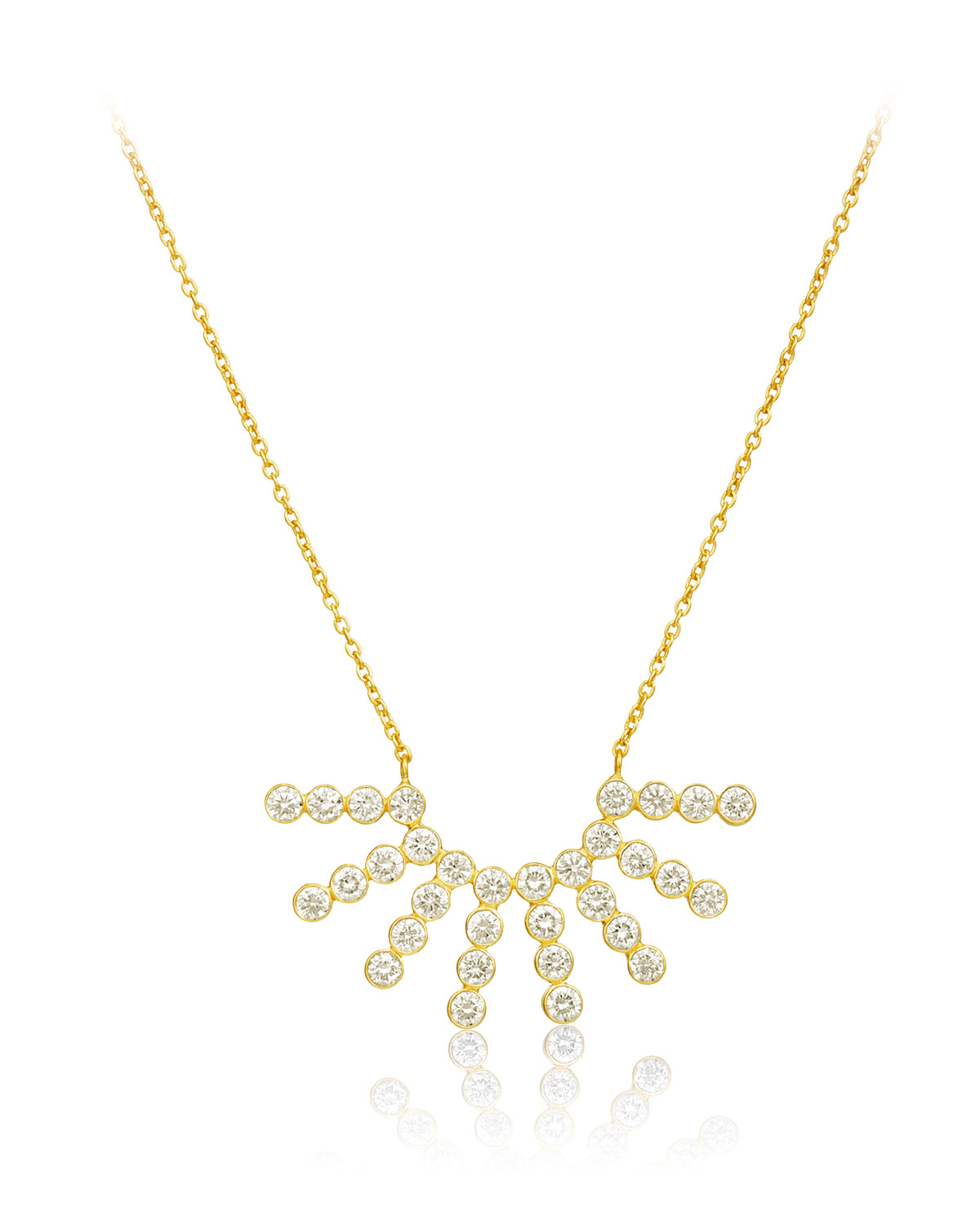LEGEND AMRAPALI Tarakini Diamond Starburst Necklace