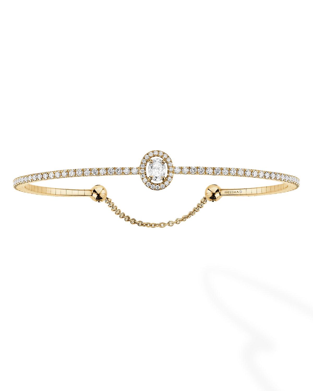 Messika GLAM'AZONE DIAMOND BRACELET IN 18K YELLOW GOLD