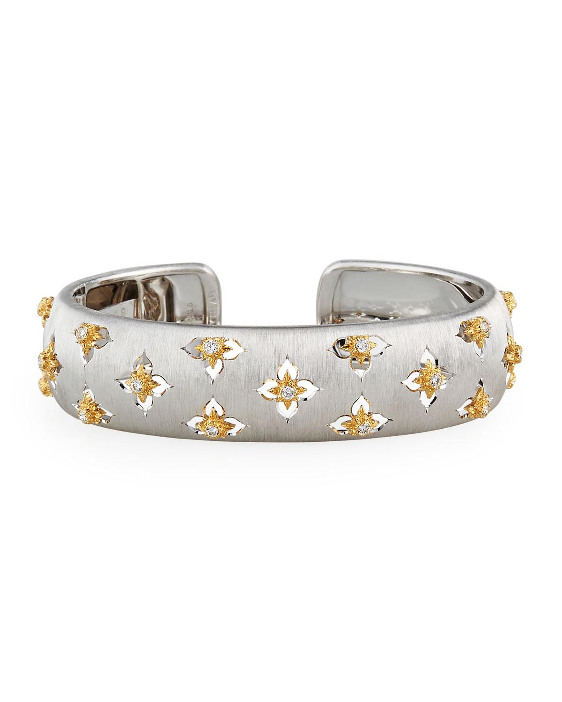 Maci Giglio 18k White Gold Diamond Cuff