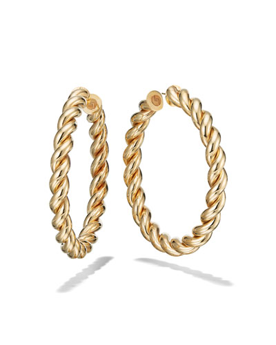 60mm Braid Royale Hoop Earrings