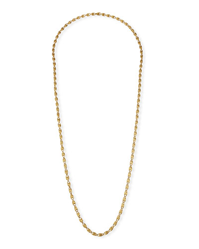 Lucia Long 18k Gold Chain Necklace, 47