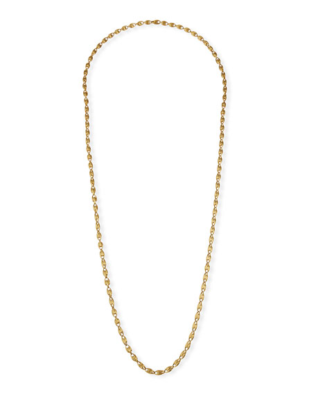 "Marco Bicego Lucia Long 18k Gold Chain Necklace, 47""L"