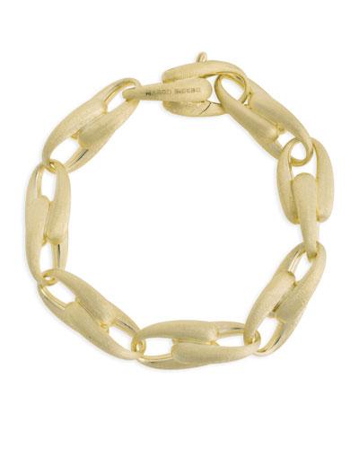 Lucia 18k Gold Interlock Chain Bracelet