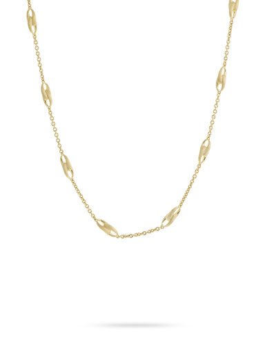 Lucia 18k Gold Link-Station Necklace