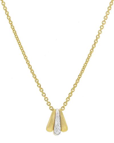Lucia 18k Diamond Pendant Necklace