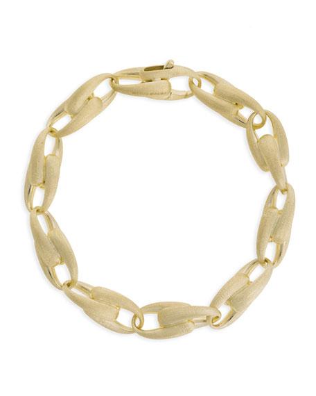 "Marco Bicego Lucia 18k Graduated Chain-Link Bracelet, 7.8""L"