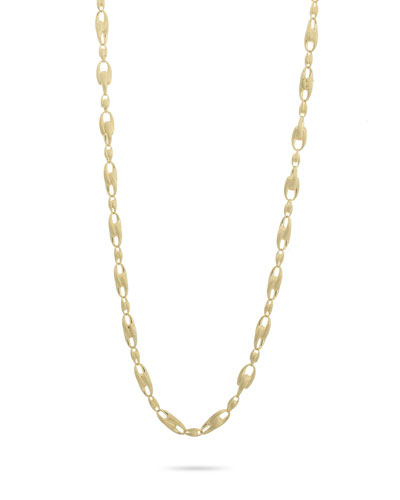 Lucia 18k Long Chain-Link Necklace