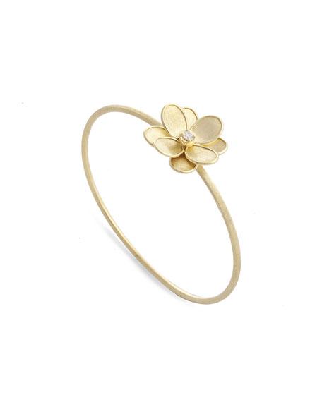 Marco Bicego Petali 18k Flower Bangle w/ Diamond
