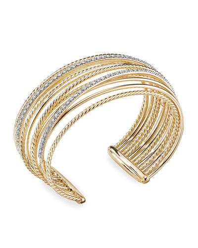 688d97eca87835 Gold Cuff Bracelet | Neiman Marcus | Gold Cuff Bangle