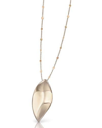 18k Rose Gold Lakshmi Pendant Necklace