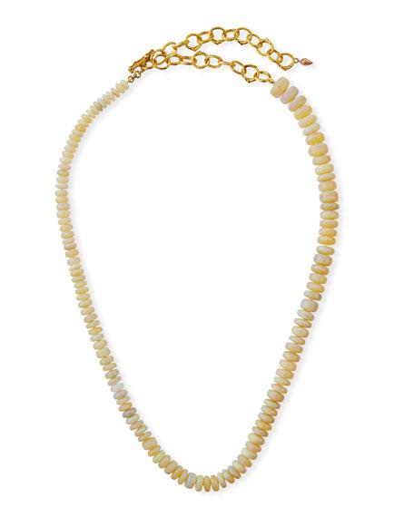 K Brunini Twig 18k O-Chain Opal Necklace