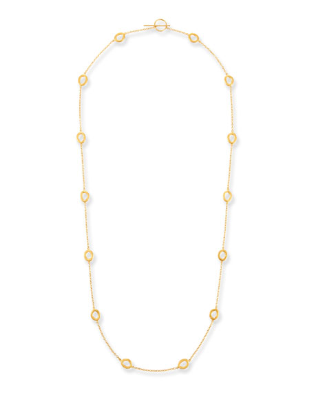 Yossi Harari 24k Gold Melissa Openwork Elements Necklace
