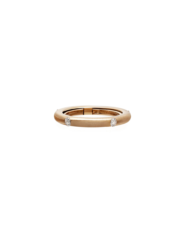 Never Ending 18k Pink Gold Diamond Ring