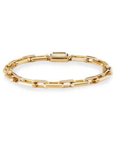 Novella 18k Gold Bracelet, Size Small