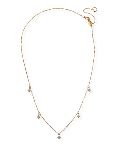 32a19524236f4 14k Gold Delicate Necklace   Neiman Marcus