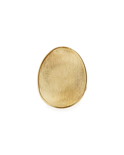 Lunaria 18k Oval Ring