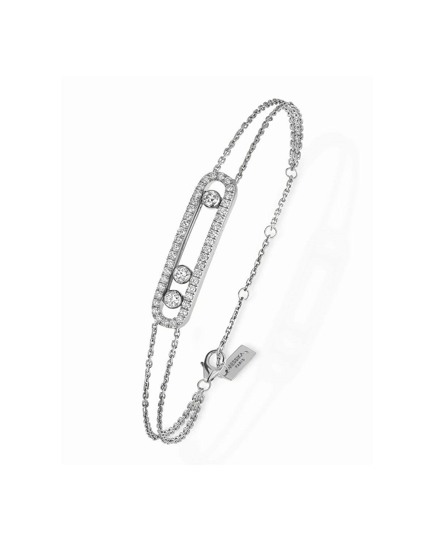 Move Diamond Pave Bracelet