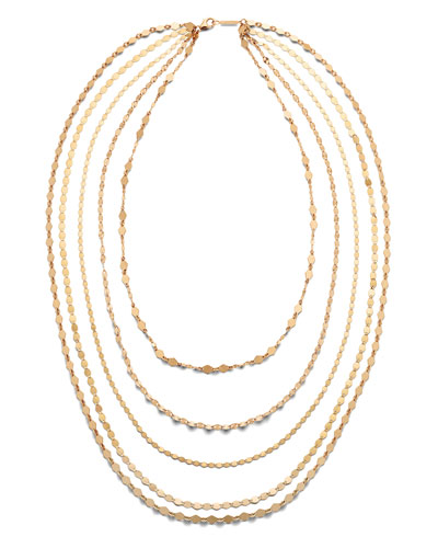 14k Roma 5-Strand Necklace