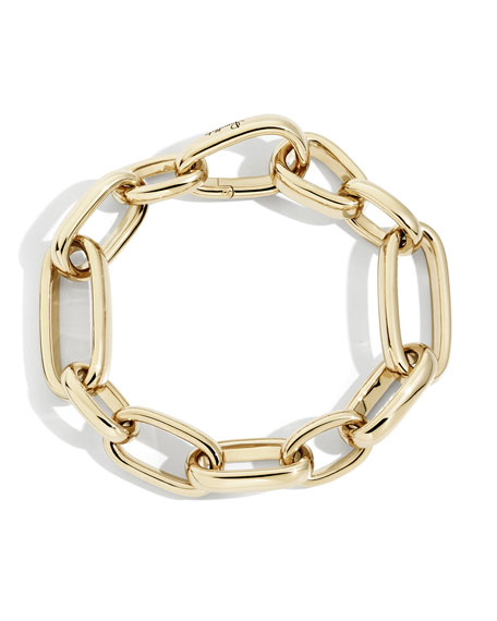 Pomellato Iconica 18k Rose Gold Slim-Chain Bracelet