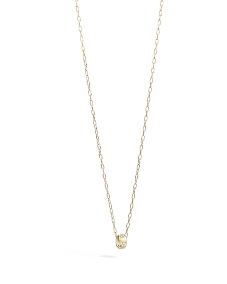 Pomellato Iconica 18K Rose Gold Diamond Pendant Necklace
