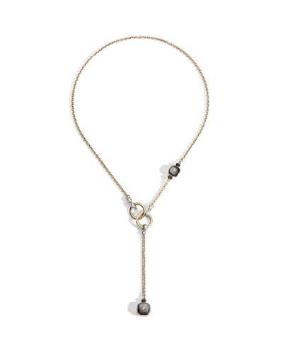 Nudo 18K Obsidian & Black Diamond Lariat Necklace