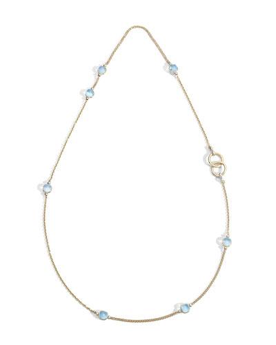 Nudo 18K Sky Blue Topaz Sautoir Necklace