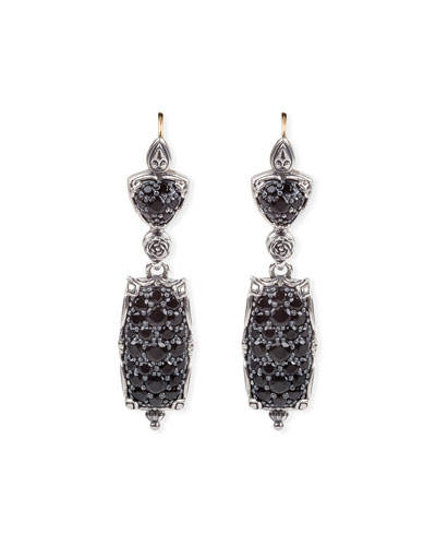 1414ea71c Quick Look. Konstantino · Circe Black Spinel Dangle Earrings