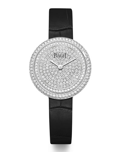 Possession 18k White Gold Diamond Watch, 29mm