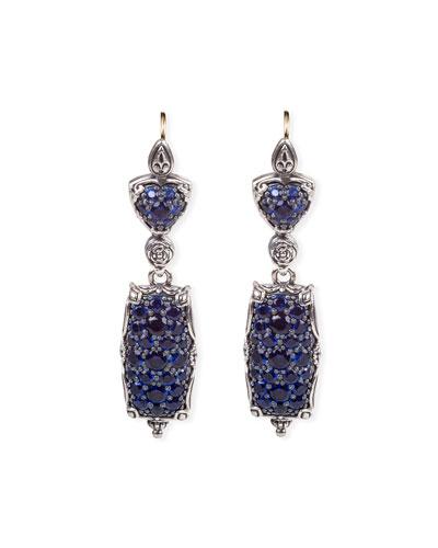 Circe Blue Spinel Dangle Earrings