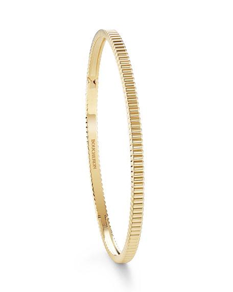 Boucheron 18k Quatre Grosgrain Bracelet, Size 16