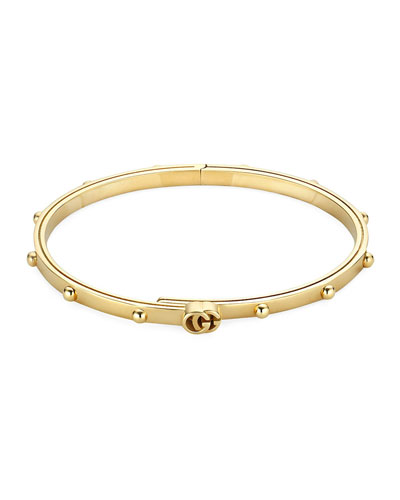 bfeb79410 Quick Look. Gucci · Running-G 18k Gold Bracelet