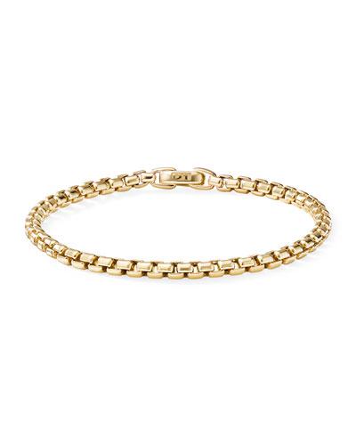 Bel Aire 18k Chain Bracelet, 4mm, Size L