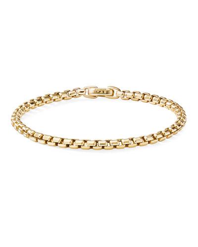 Bel Aire 18k Chain Bracelet, 4mm, Size M