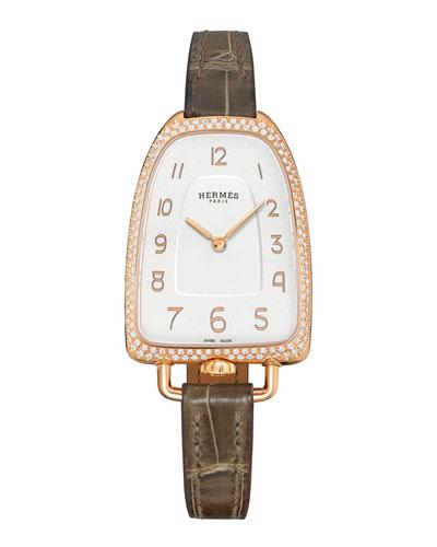 Galop D'Hermes Watch, 40.8 x 26 mm