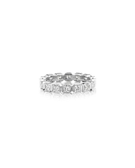 Maria Canale 18k White Gold Diamond Eternity Ring