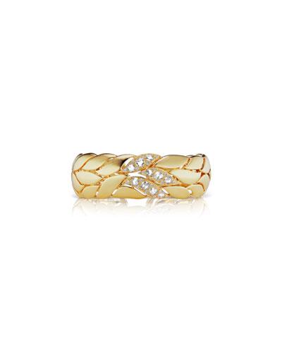 18k Diamond Petal Bracelet
