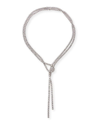 Silver Colored Y Style 20/'5 Dream Lariat Necklace