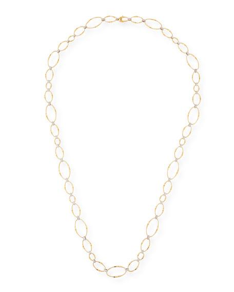 Marco Bicego Marrakech 18k Long Diamond Necklace