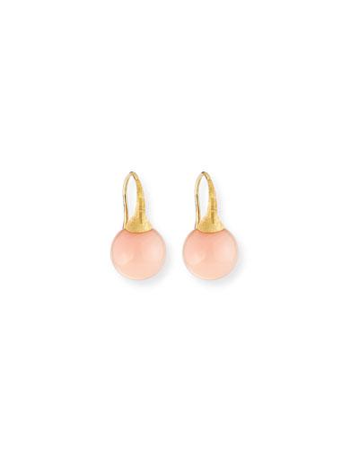 Africa 18k Opal Earrings