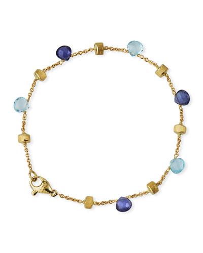 Paradise 18k Gemstone Bracelet