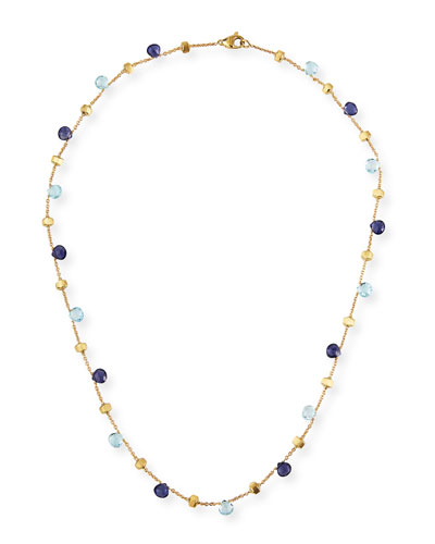 Paradise 18k Gemstone Necklace