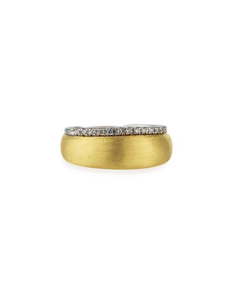 Marco Bicego 18k Diamond-Trim Ring