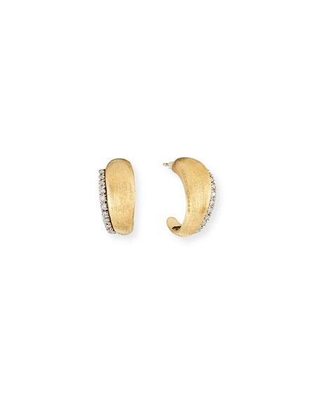 Marco Bicego Small Diamond Hoop Earrings