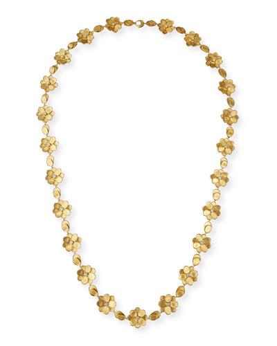 Petali 18k Full-Flower Necklace