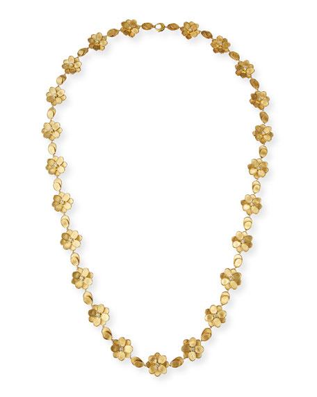 Marco Bicego Petali 18k Full-Flower Necklace