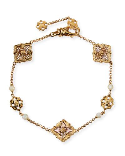 Opera 18k Chain Bracelet w/ Mother-of-Pearl