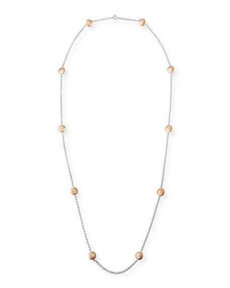 Buccellati Macri Classica Long Necklace w/ 10 Round Motifs