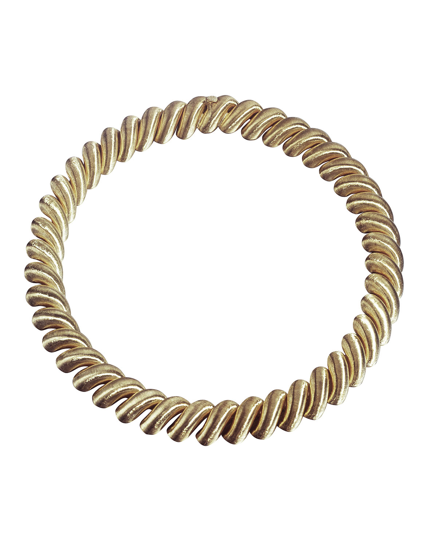 18k Torchon Medium Necklace