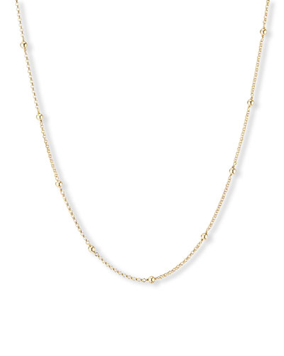 Cable Collectibles 18k Dome Necklace, 36